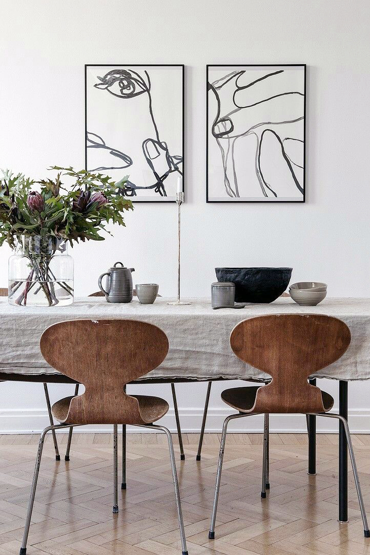 Abstract art for Modern paintings for dining room