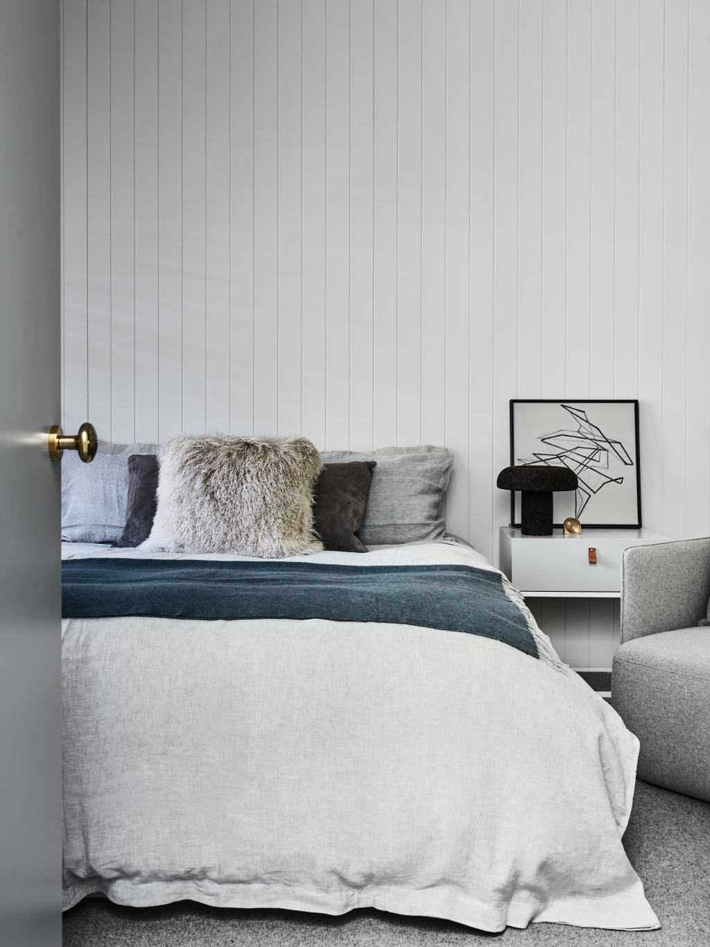 how to style bedside tables