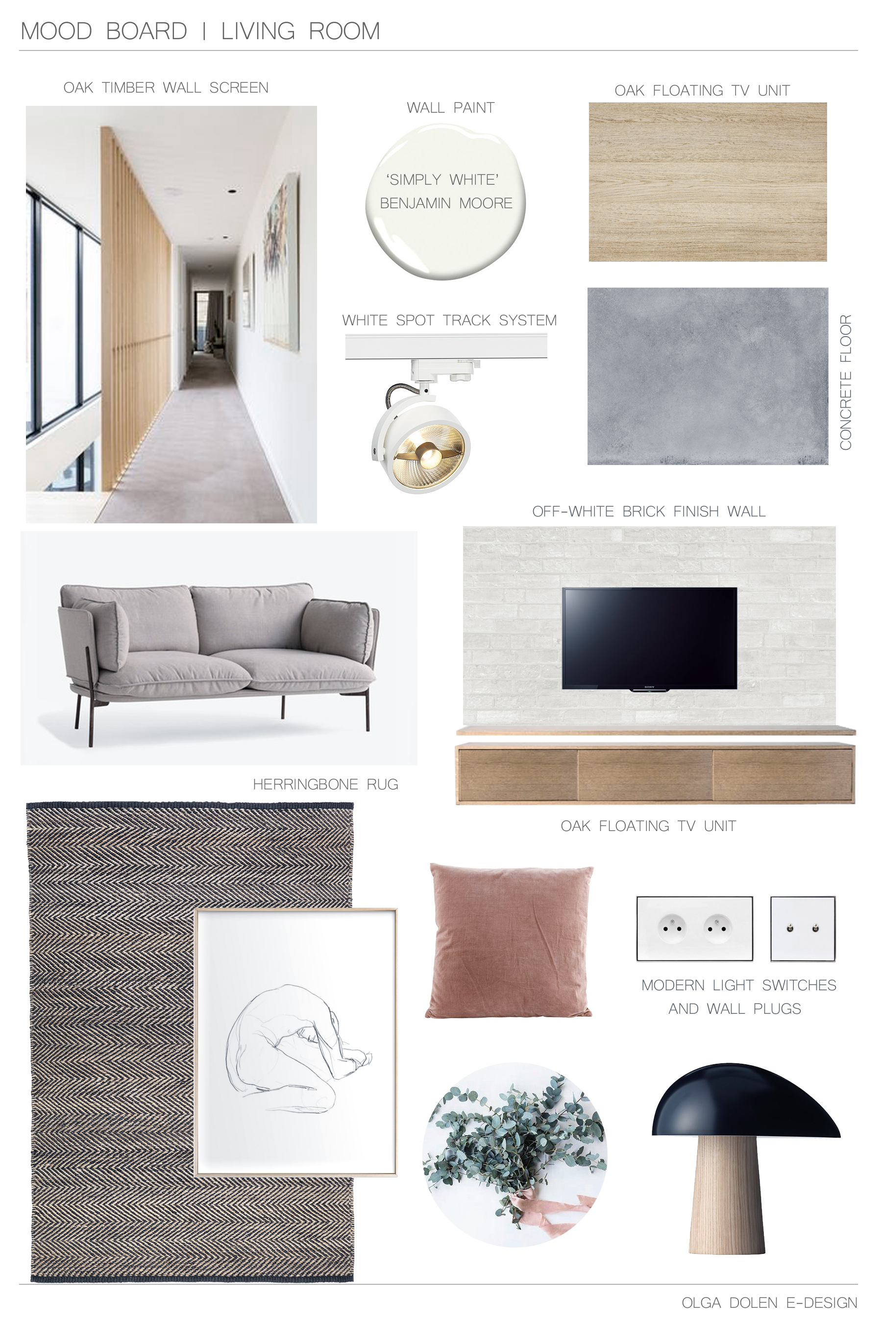 living room design, moodboard living room,