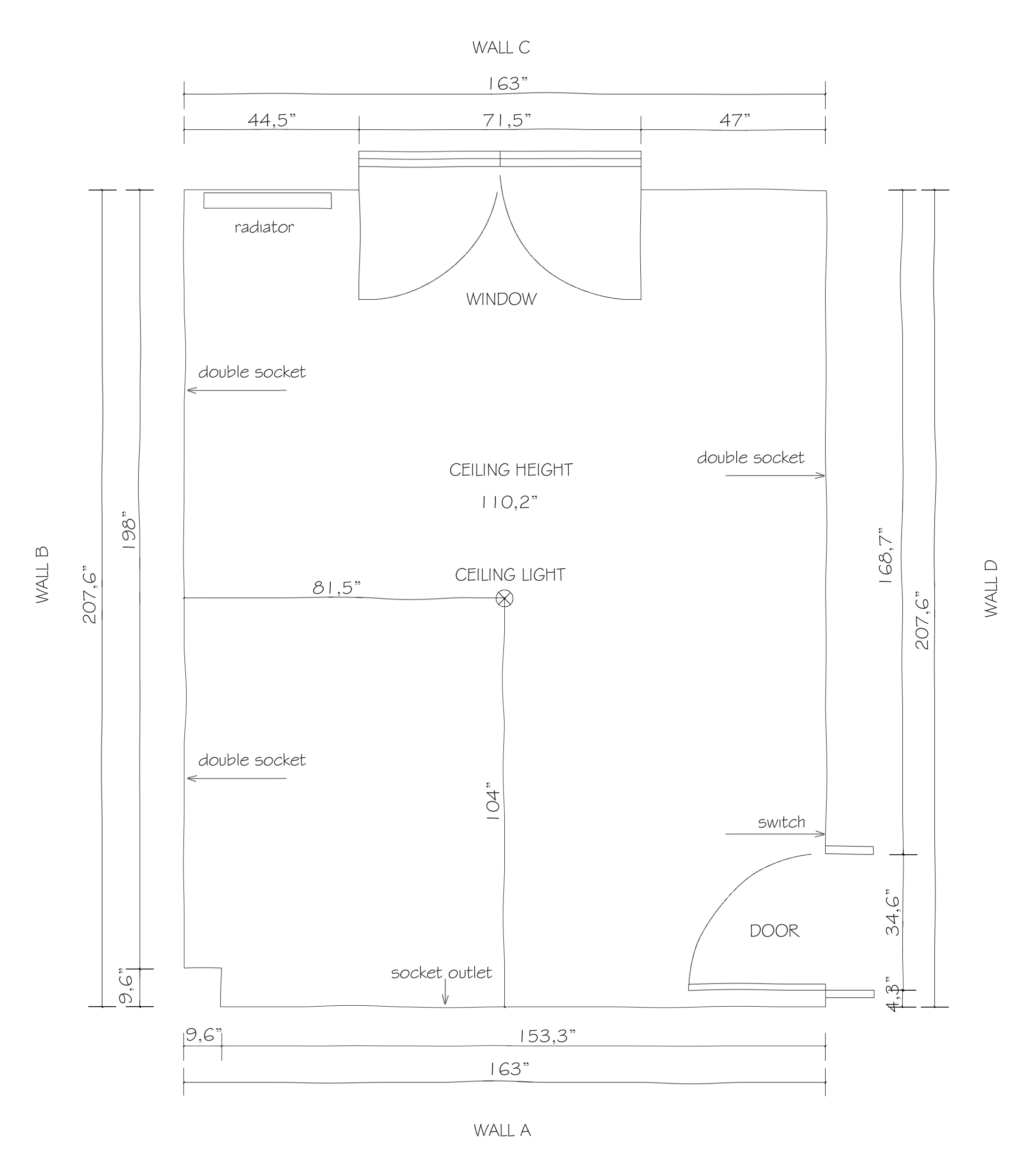 measuring guide, how to measure a room