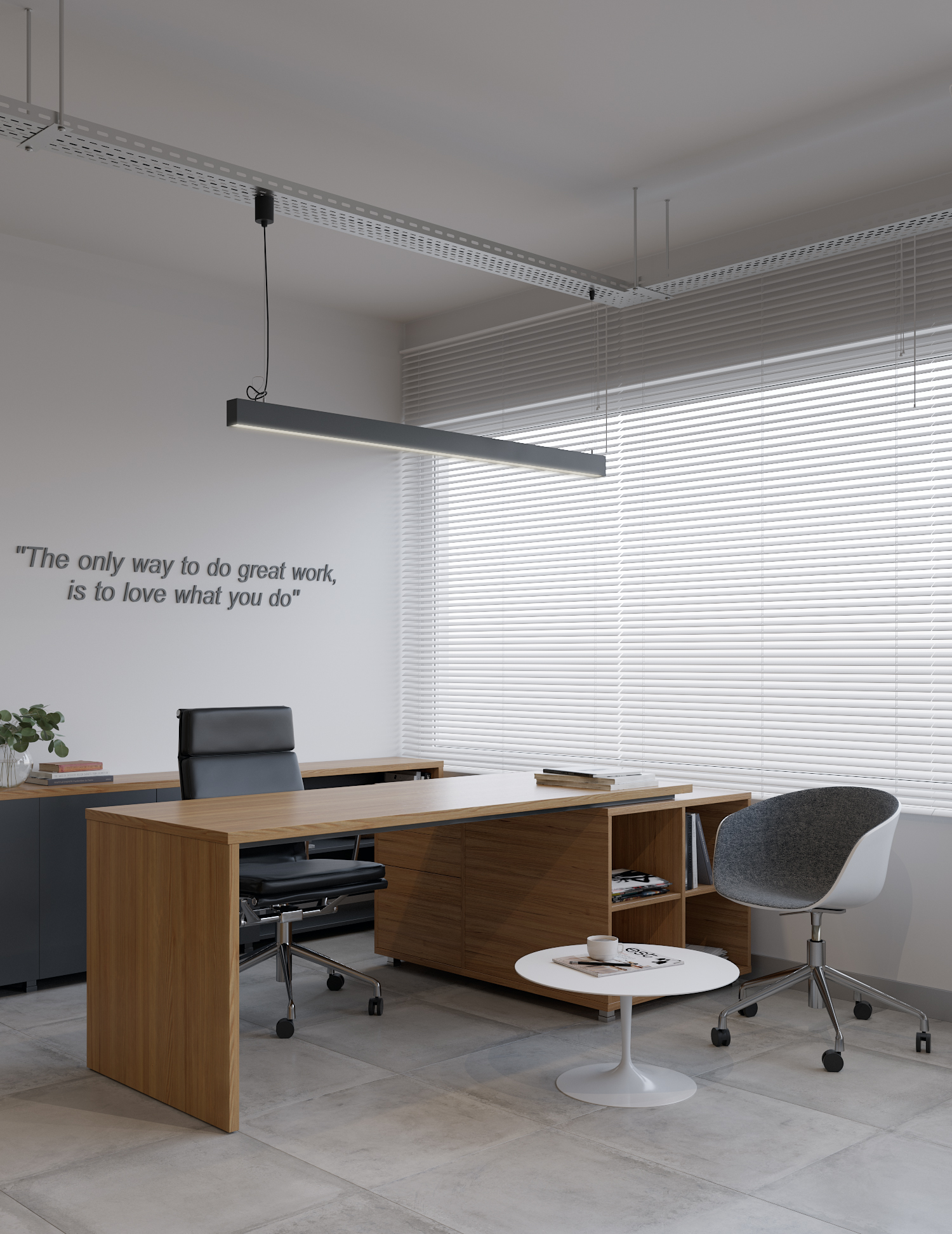general manager area office design